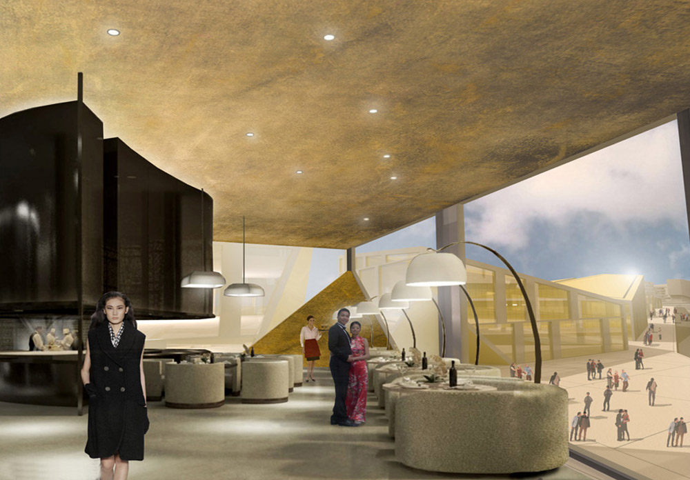 progetto luxury stores cina